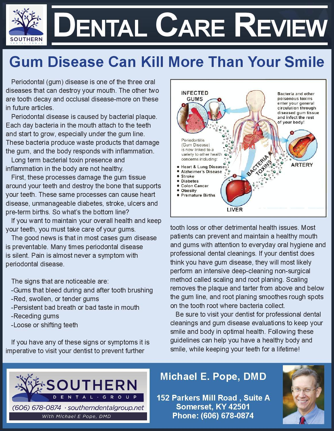 Gum Disease Article