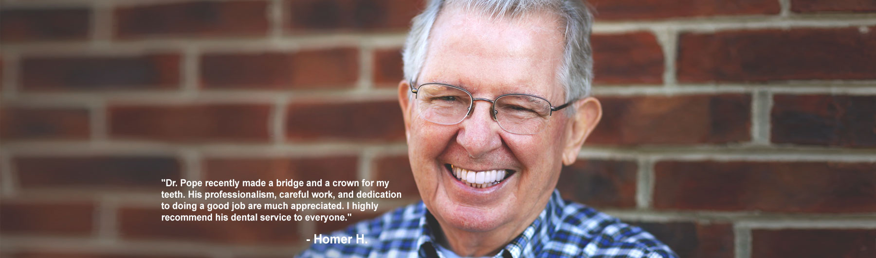 Southern Dental Group Homer H. Testimonial